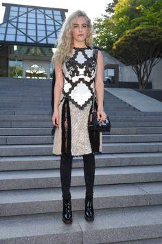 Riley Keough in Louis Vuitton