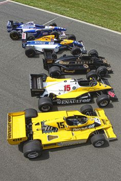 Renault Engines in F1