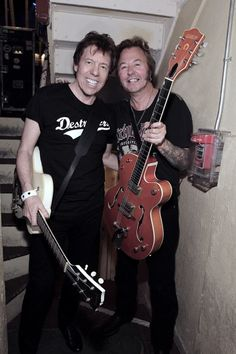 Brian Setzer & George Thorogood. I can not wait to see these 2 in concert in Milwaukee on 6/08/2015