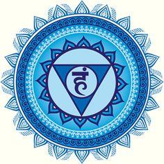 vishuda - Quinto chakra o Chakra laríngeo.