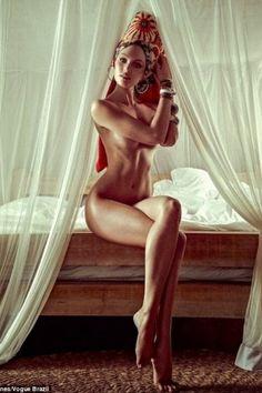 Candace Swanepoel beautifully shaped; thinspiration