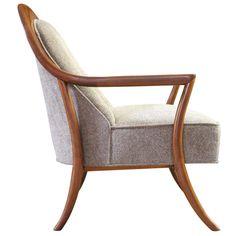 Saber Leg Lounge Chair by T.H. Robsjohn-Gibbings  for Widdicomb ca.1950's