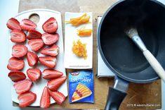 Tarta cu capsuni si ciocolata - fara coacere | Savori Urbane Grill Pan, Grilling, Urban, Baking, Pie, Gelee, Patisserie, Backen, Bread