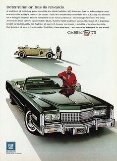 1975 Cadillac Fleetwood Eldorado Convertible & 1933 Phaeton