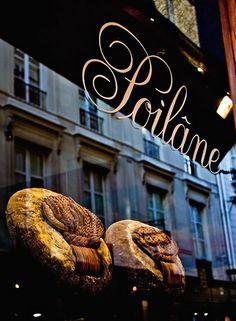 Boulangerie Poilâne - 8 rue du Cherche-Midi, Saint-Germain-des-Prés, Paris VIème.