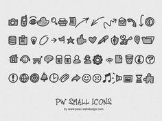 PW Small Icons Font | dafont.com* sketch