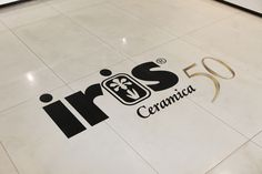 June 2011, Iris showroom, Fiorano Modenese. Iris Ceramica 50 year anniversary