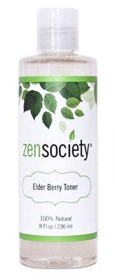 ZenSociety Elder Berry Toner- $18.00