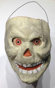 German made skull lantern, early Halloween Pictures, Halloween Night, Halloween Masks, Holidays Halloween, Halloween Pumpkins, Halloween Stuff, Happy Halloween, Halloween Witches, Halloween