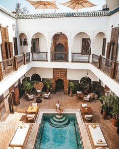 After a day of exploring Marrakech's central medina head back to relax by the pool at Riad Kasbah Marrakech. If you are looking for a quintessential Morrocan accommodation option then look no further! Image by