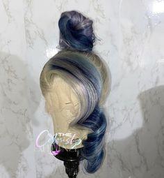 Weave Ponytail Hairstyles, Baddie Hairstyles, Wig Styles, Curly Hair Styles, Natural Hair Styles, High Fashion Hair, Creative Hair Color, Blonde Hair Looks, Queen Hair