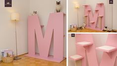 German luxury cat furniture manufacturer KletterLetter just released a new slim line edition of their gorgeous alpha numeric cat furniture. The new line compliments their original designs, but at a lower price. Every piece from KletterLetter is custom made. Their incredible cat towers take the form of letters, numbers and special type characters. Each one has…