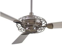 Ceiling fans with style fans vintage and ceiling fan acero fan without light comes in flat white to blend with ceiling or brushed steel aloadofball Images