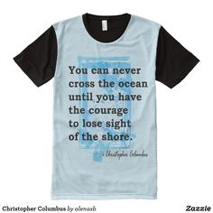 40deb444241 Shop Christopher Columbus All-Over-Print T-Shirt created by alenasb.  Vjaysdigimarketing · Tees Shoppe