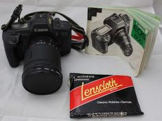 Canon EOS 600 Camera with Case and Tamron AF Aspherical 18-200mm Lens - 250 #Canon
