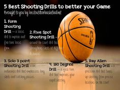 We have selected five great shooting drills that will make anyone a better basketball player and more important to their team.
