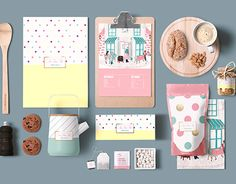 """Check out new work on my @Behance portfolio: """"Tea Time Tale Packaging and Collateral Design""""…"""