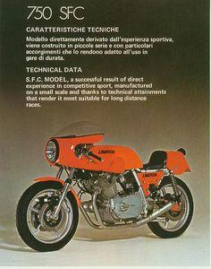 1974 Laverda 750SFC