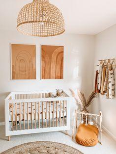 Chic Nursery, Baby Nursery Decor, Baby Bedroom, Nursery Ideas, Girl Nursery, Baby Room Neutral, Nursery Neutral, Gender Neutral, Neutral Nurseries