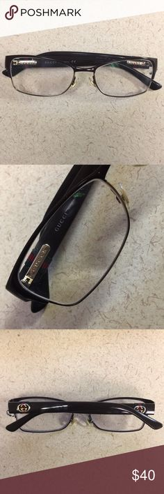 Gucci Eyeglass Frames Used Gucci Frames, screw replaced. In used condition but good. Gucci Accessories Glasses
