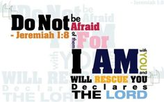 the Lord is always with us, no matter what Words Quotes, Wise Words, Me Quotes, Sayings, Jesus Quotes, Doers Of The Word, Word Of God, Jeremiah 1, Daily Encouragement