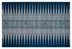 Genoa Rug, Royal/Ivory  Made in Turkey onekingslane