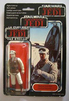Star Wars action figure vintage Rebel soldier