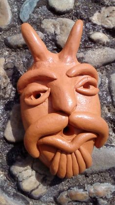 Portuguese Traditional Mask / Ceramic Mask / Wall Decor / Wall Art / Unique Gift / Handmade in Portugal