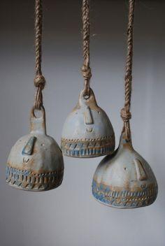 Ceramic bells. Atelier Stella.