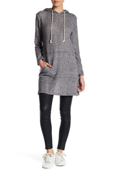 Knit Hooded Tunic (Petite) by Caslon on @nordstrom_rack
