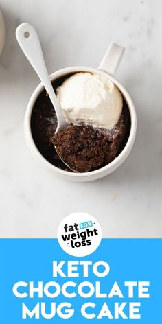 Sugar Free Recipes, Gluten Free Recipes, Low Carb Recipes, Keto Chocolate Mug Cake, Chocolate Mug Cakes, Low Carb Lunch, Healthy Salads, Keto Snacks, Keto Dinner