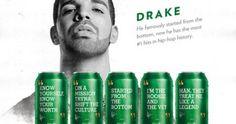 Drake Quotes On Sprite Cans Drake Rapper, Drake Quotes, Rapper Quotes, The Man, Canning, Quotes From Drake, Home Canning, Quotes By Drake, Conservation