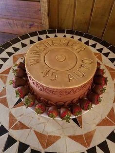 Shotgun shell groom's cake