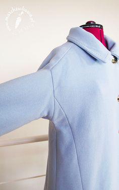 Jackie Kennedy Style Coat: #102 B, Burda 8/2010