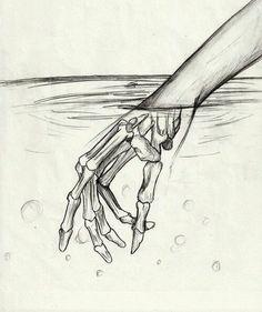 Easy Pencil Drawings, Sad Drawings, Art Drawings Sketches Simple, Pencil Sketching, Sketch Art, Animal Sketches, Easy But Cool Drawings, Drawing With Pencil, Tumblr Drawings