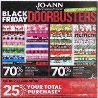 Joann Fabrics Black Friday Page 1