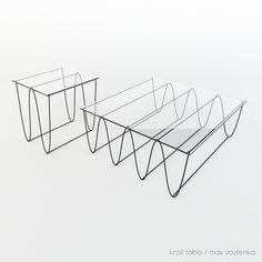 Line Studio   KROLL TABLE