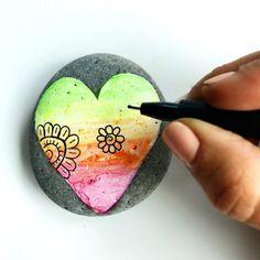 Rock Painting – Four Creative Ideas & Supplies