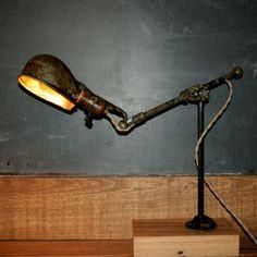 Vintage Industrial Factory Lamp