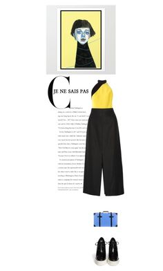 """""""Celebrate your uniqueness"""" by mirary ❤ liked on Polyvore featuring FAUSTO PUGLISI, Protagonist, STELLA McCARTNEY, Globe-Trotter, StellaMcCartney and fausto"""