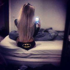 Batman blondie