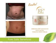 Awesome results with Arbonne RE9 Advanced Anti - Aging Firming Body Creme      www.NaturallyInspired.MyArbonne.com