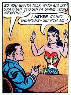 Wonder Woman —Sensation Comics #28 by William Moulton Marston & H.G. Peter, 1944.