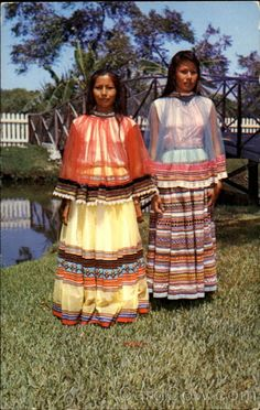 Image detail for -Seminole Indian Girls