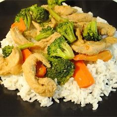 Chicken Stir-Fry - A