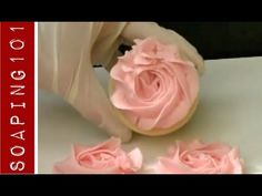 ▶ Cold process soap piping techniques {tip 2D} - YouTube