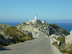 Majorca - okay so, I have a major fear of heights. This lighthouse was horrible to get to - we had to do it by car. A thin road with no barriers either side...and loads of tourists! I was crying the whole way there and back! Still, very pretty.