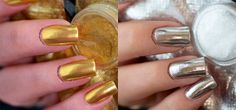 Unhas cromadas? Quer saber como ter essa tendência nas suas unhas? Corre para a Fascínio por Esmaltes que te conto o segredo dessas unhas!   http://fascinioporesmaltes.com/dicas-unhas-cromadas-prata-e-dourada/
