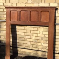 1930s pine fire surround on Gumtree. Dimensions: 137.5 high x 122 wide x 13.5 deep Aperture: 94 high x 91.5 wide Collect from