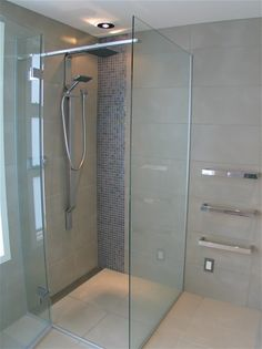 level entry shower